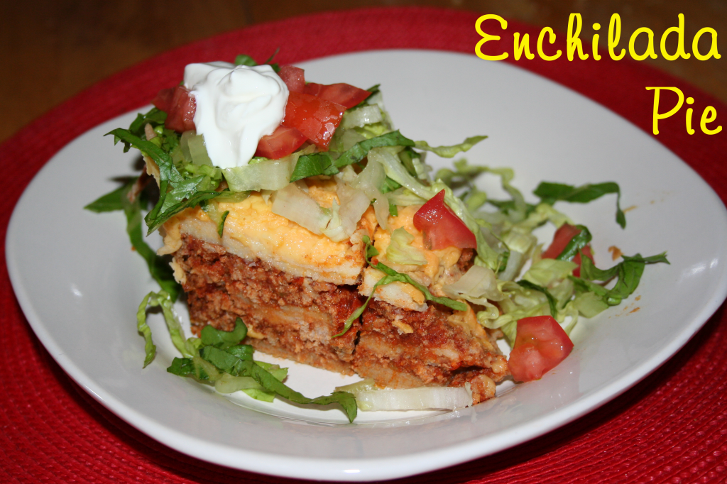 Enchilada Pie ~ LifeOfJoy.me