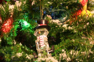 Glass Snowman ~ LifeOfJoy.me