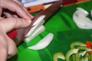 Slicing Onion ~ LifeOfJoy.me