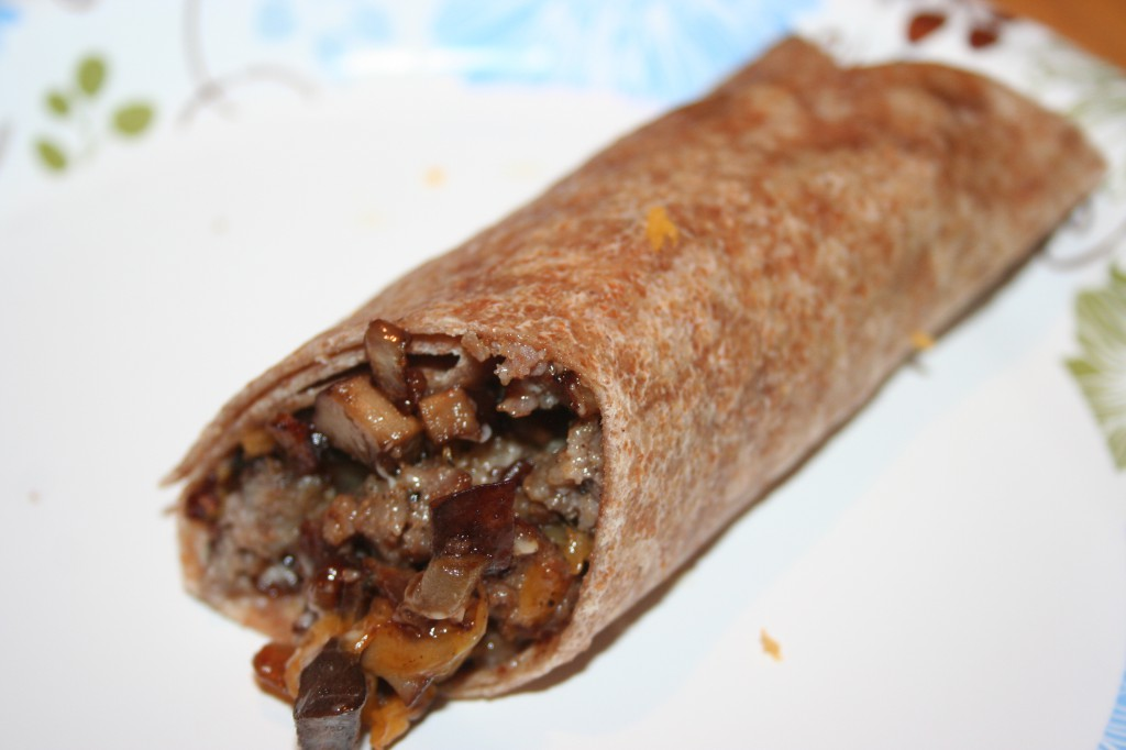Breakfast Burrito ~ LifeOfJoy.me
