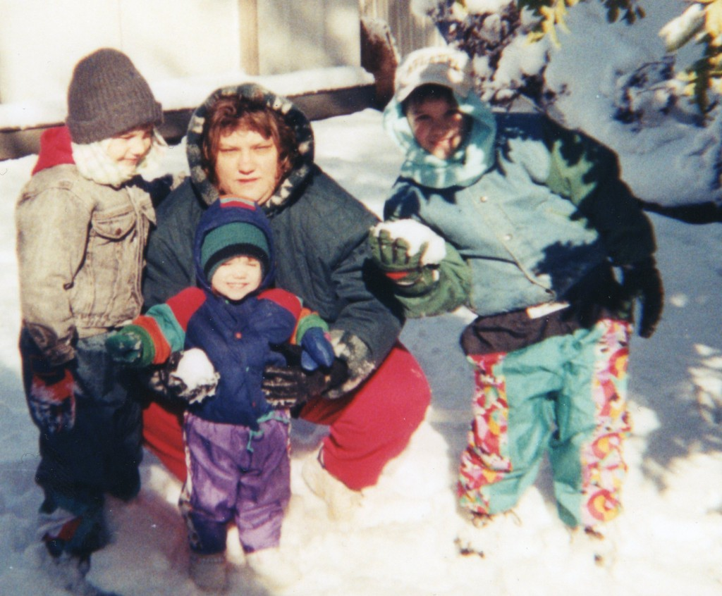 I'm sharing my love of snow with my kids ~ LifeOfJoy.me