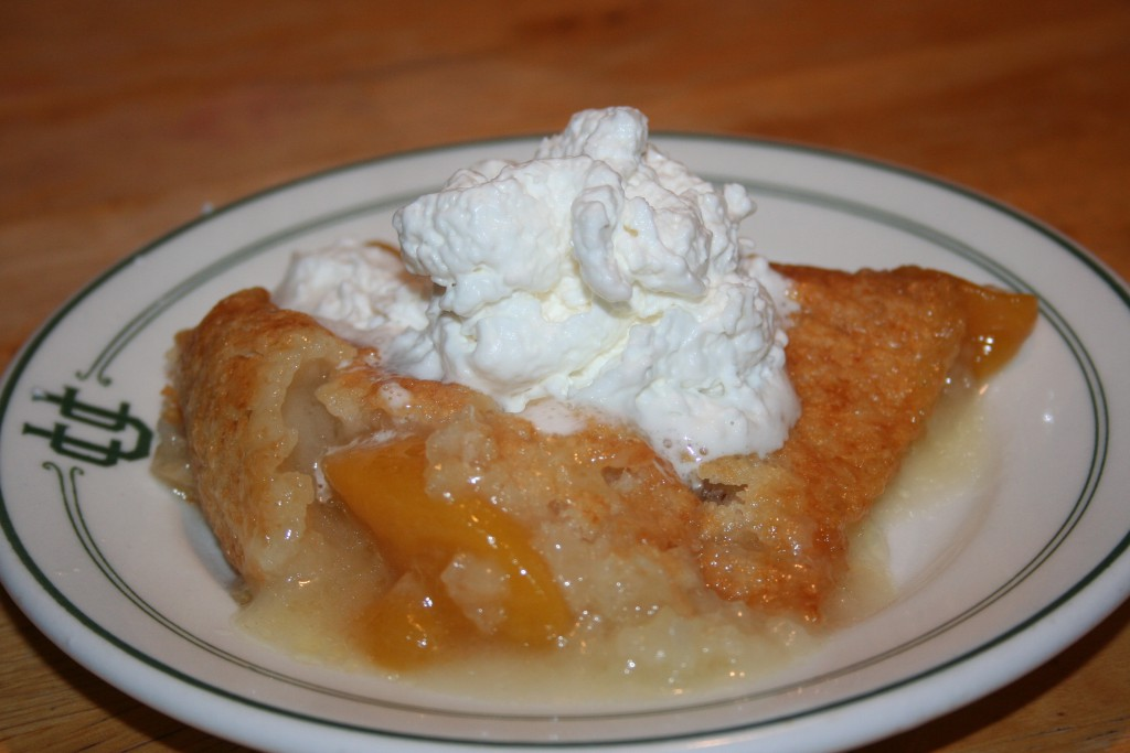 Cobbler with Whipped Cream ~ LifeOfJoy.me