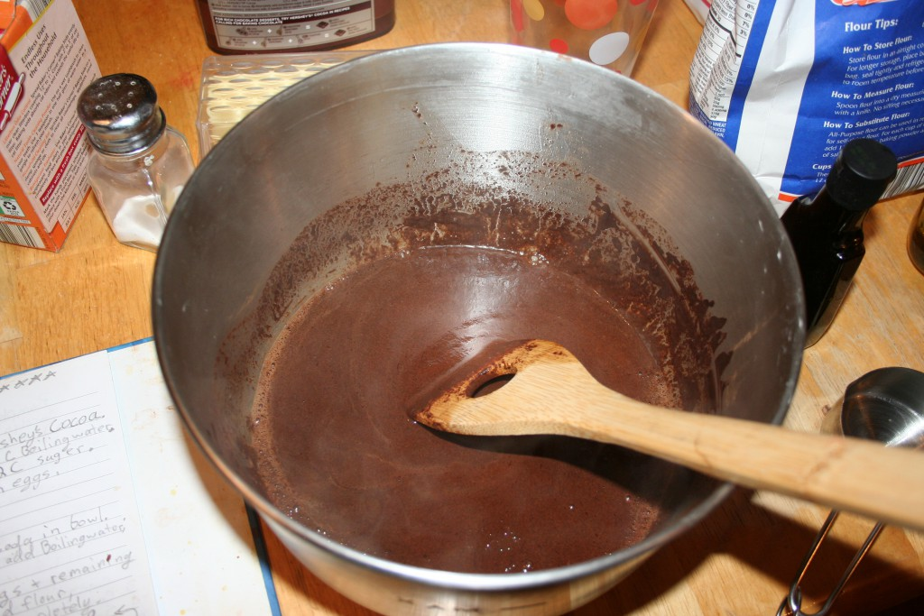 Brownies step 2 ~ LifeOfJoy.me