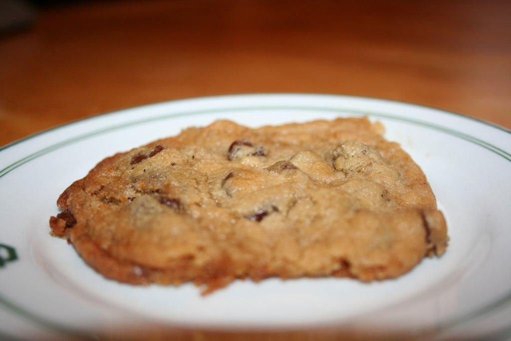 Choc Chip Cookie Done ~ LifeofJoy.me