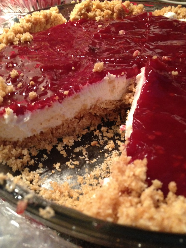Cut Blackberry Cheesecake ~ LifeofJoy.me