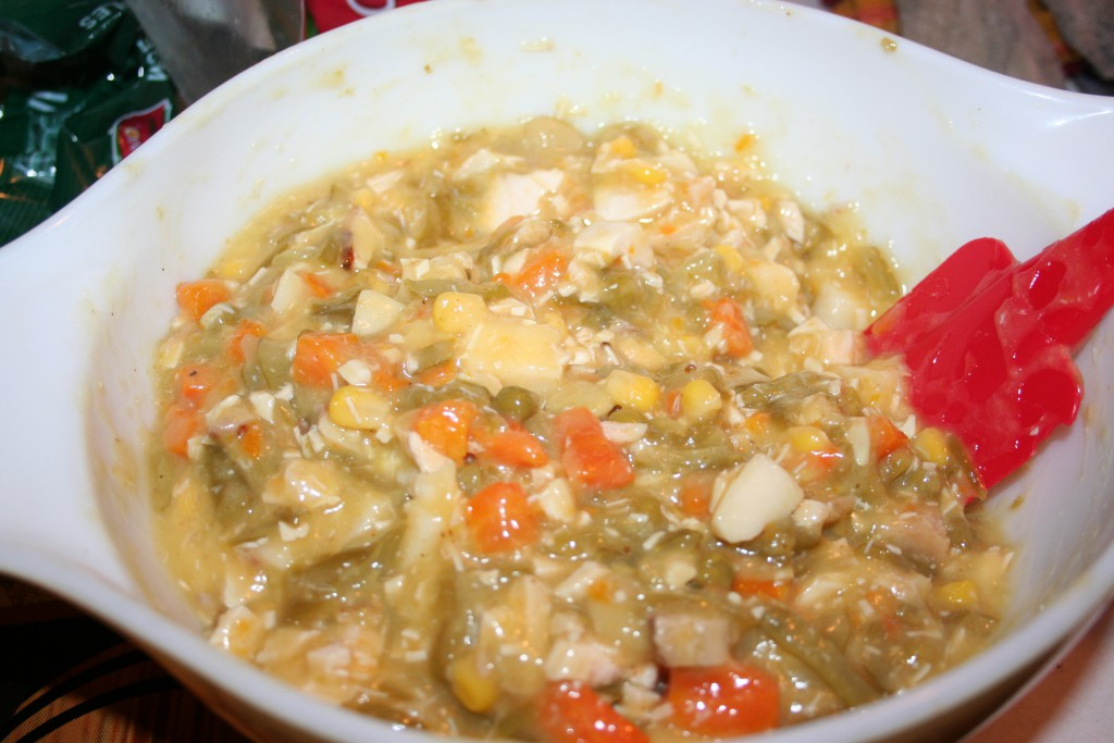 Chicken Pot pie Filling ~ LifeofJoy.me
