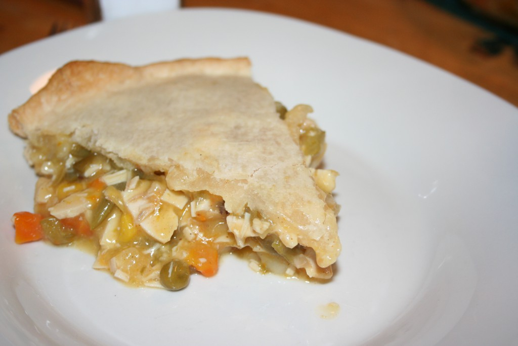Slice of Pot Pie ~ LifeofJoy.me