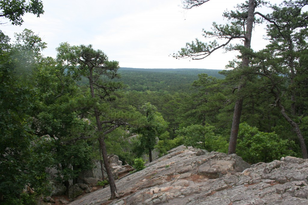 Atop Robbers Cave ~ LifeofJoy.me