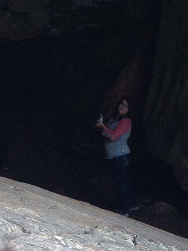 Tiff in Cave ~ LifeofJoy.me