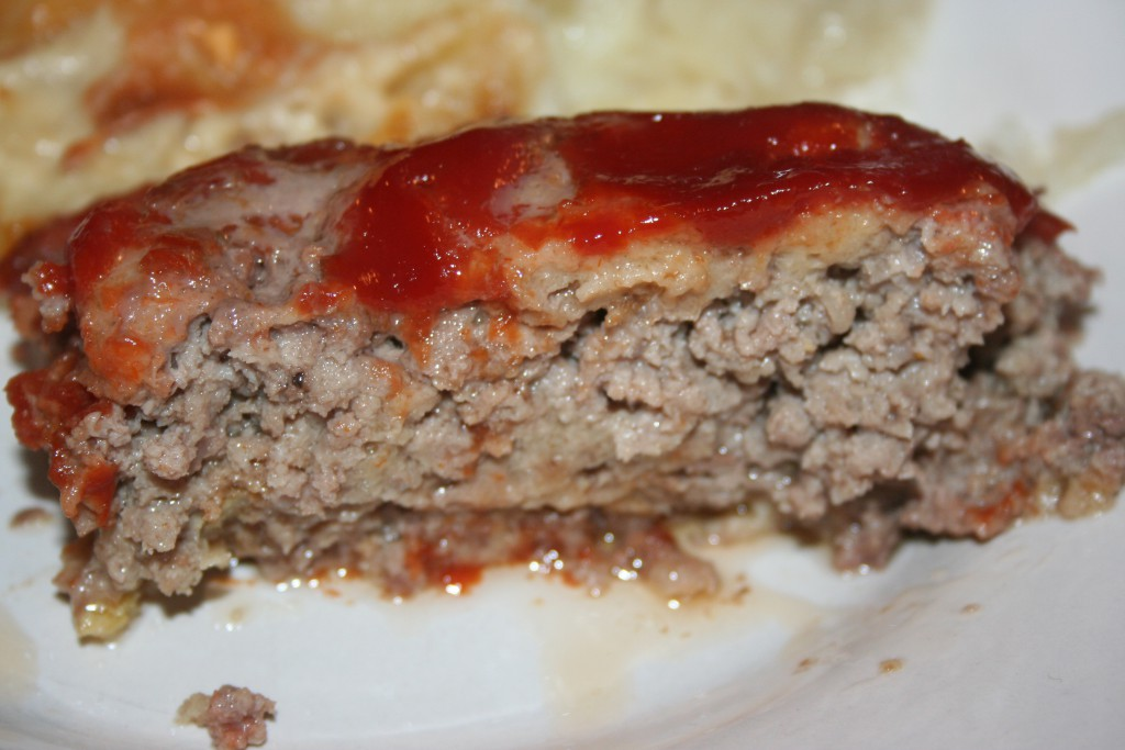 Slice of Meatloaf ~ LifeofJoy.me