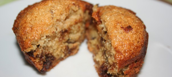 Banana Choc Chip Muffin ~ Lifeofjoy.me