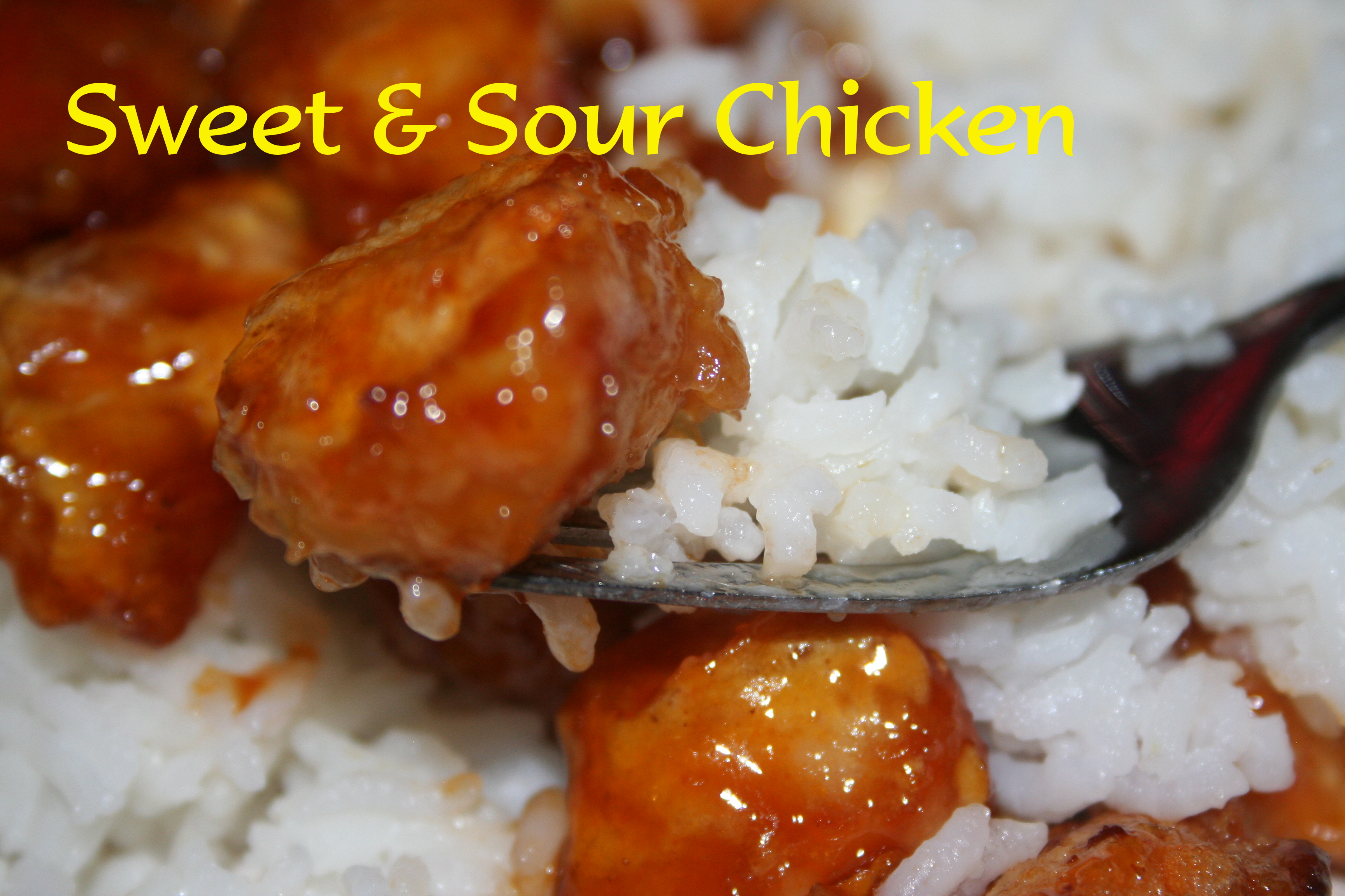Sweet and Sour Chicken ~ Lifeofjoy.me