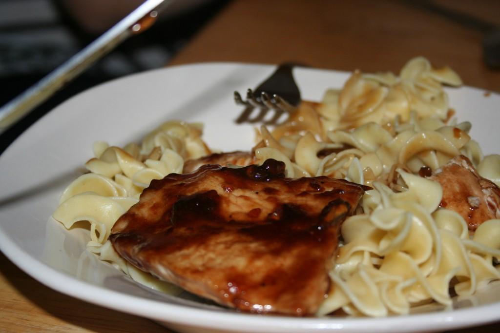 San Fran Chicken on Noodles ~ Lifeofjoy.me