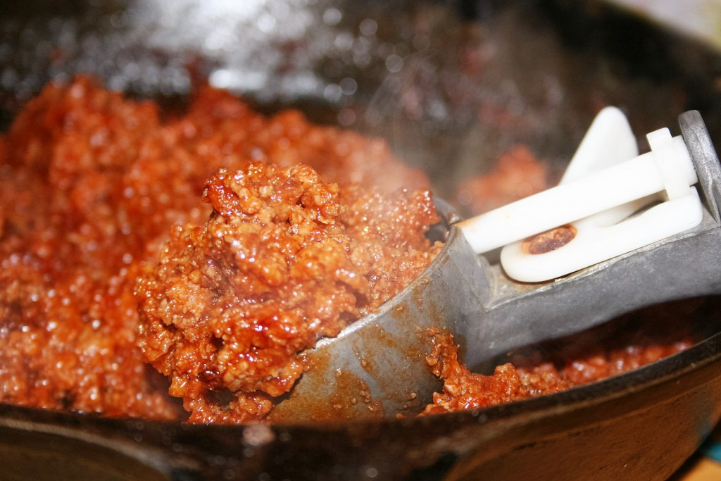 Portioning Sloppy Joes ~ Lifeofjoy.me