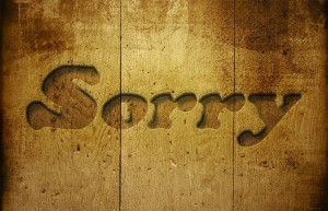 Power of Sorry ~ Lifeofjoy.me