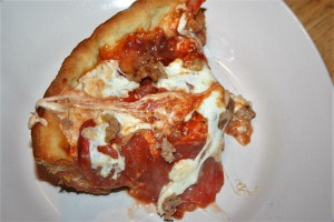 Deep Dish Pizza ~ Lifeofjoy.me