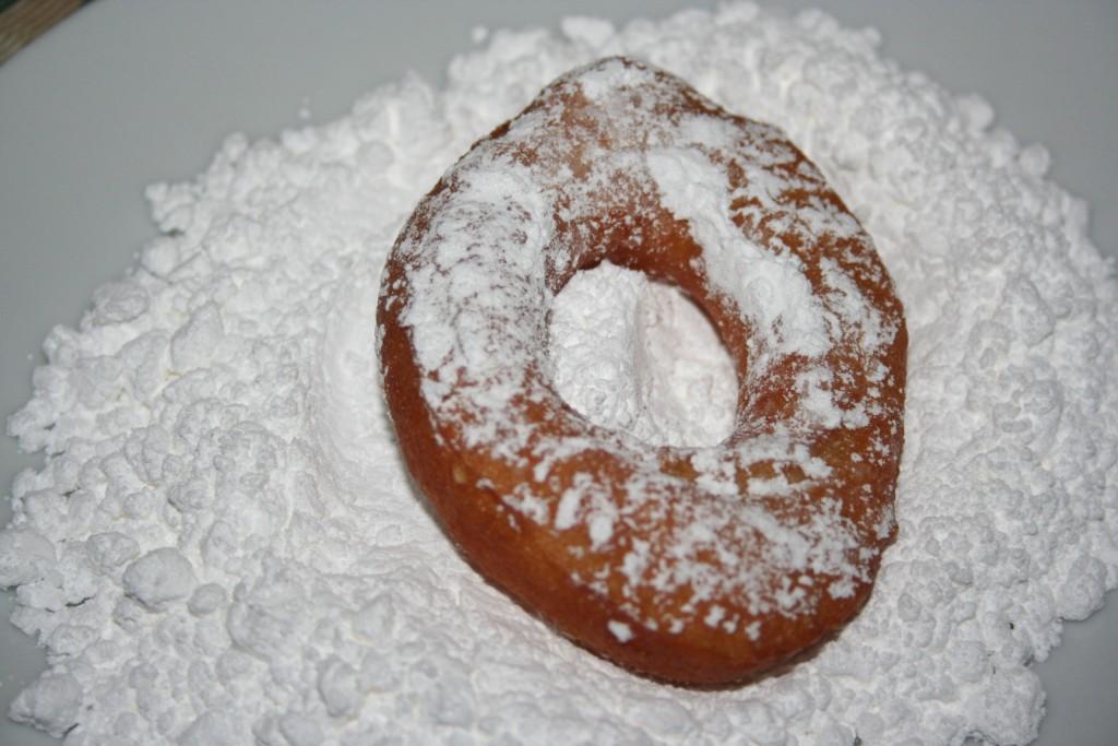 Powdered sugar dipping ~ Lifeofjoy.me