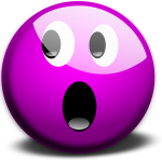 shock emoticon ~ Lifeofjoy.me