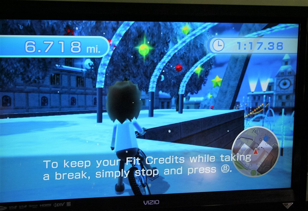 Xmas Decor Free Ride Wii Fit U ~ Lifeofjoy.me