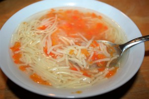Granny's Chicken Soup ~ Lifeofjoy.me