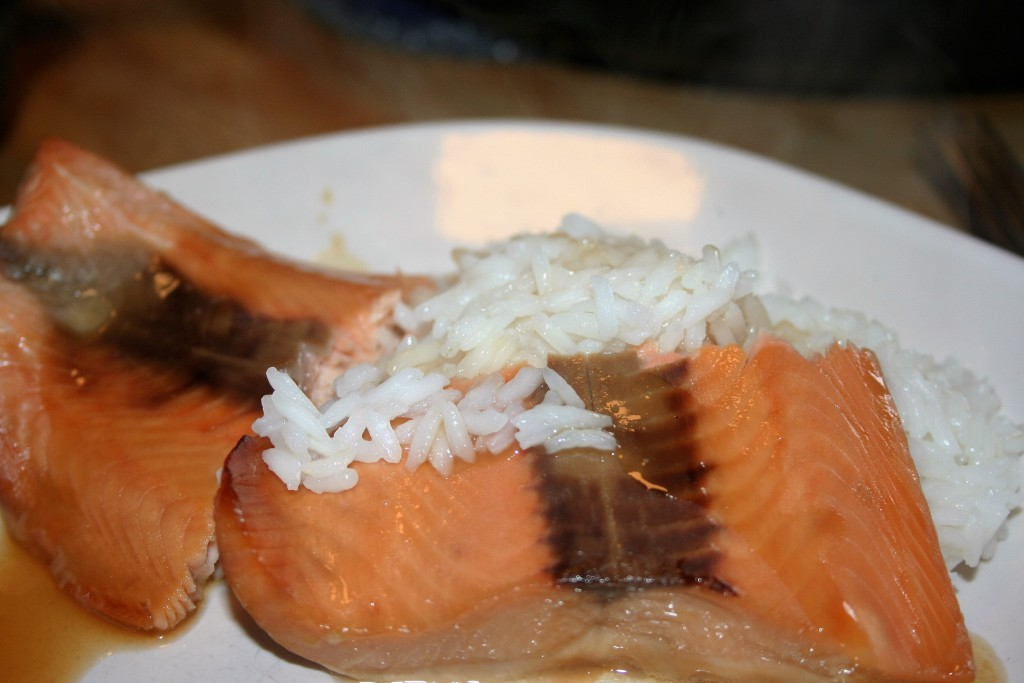 Maple Glazed Salmon ~ Lifeofjoy.me
