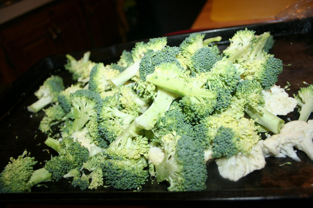Roasted Cauliflower & Broccoli ~ Lifefojoy.me