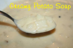 Potato Soup ~ Lifeofjoy.me