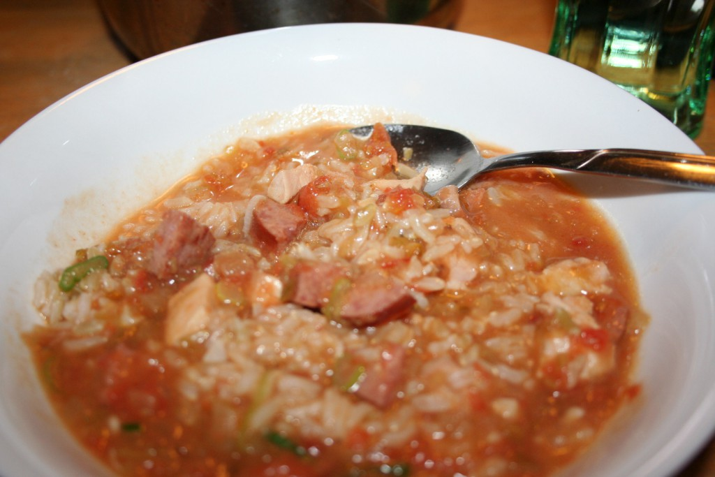 Chicken and Sausage Gumbo ~ Lifeofjoy.me