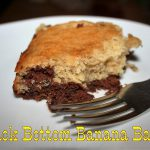 Black Bottom Banana Bars ~ Lifeofjoy.me