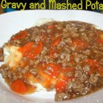 Meat Gravy and Mashed Potatoes ~ Lifeofjoy.me