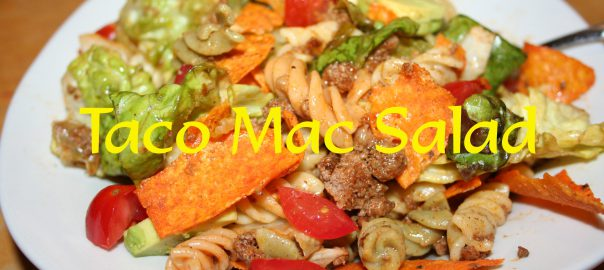 Taco Mac Salad ~ Lifeofjoy.me
