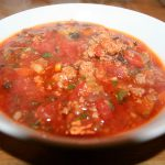 Fat Bomb Hamburger Soup ~ Lifeofjoy.me