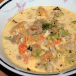 Cheeseburger Soup ~ Lifeofjoy.me