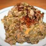 Ground Meat and Green Bean Casserole ~ Lifeofjoy.me