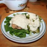 Chicken and Garlic Cream ~ Lifeofjoy.me