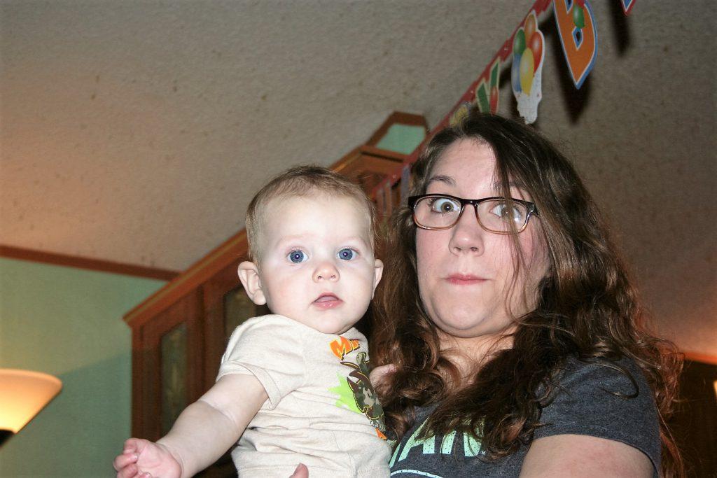 Liam with Aunt Tiffany ~ LIfeofjoy.me