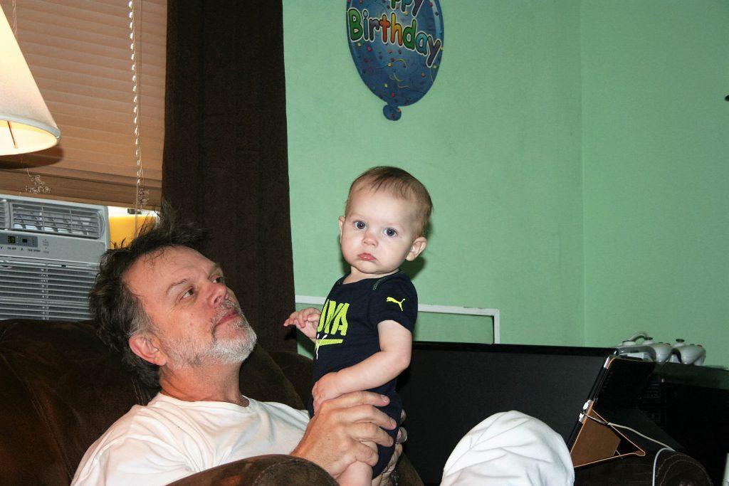 He found Papa ~ Lifeofjoy.me