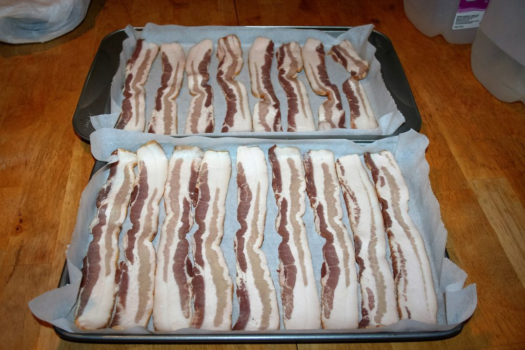 Baking Bacon ~ Lifeofjoy.me
