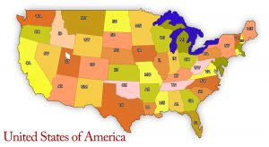 US Map ~ Lifeofjoy.me