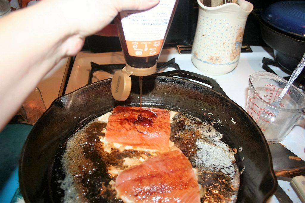Skillet Salmon ~ Lifeofjoy.me