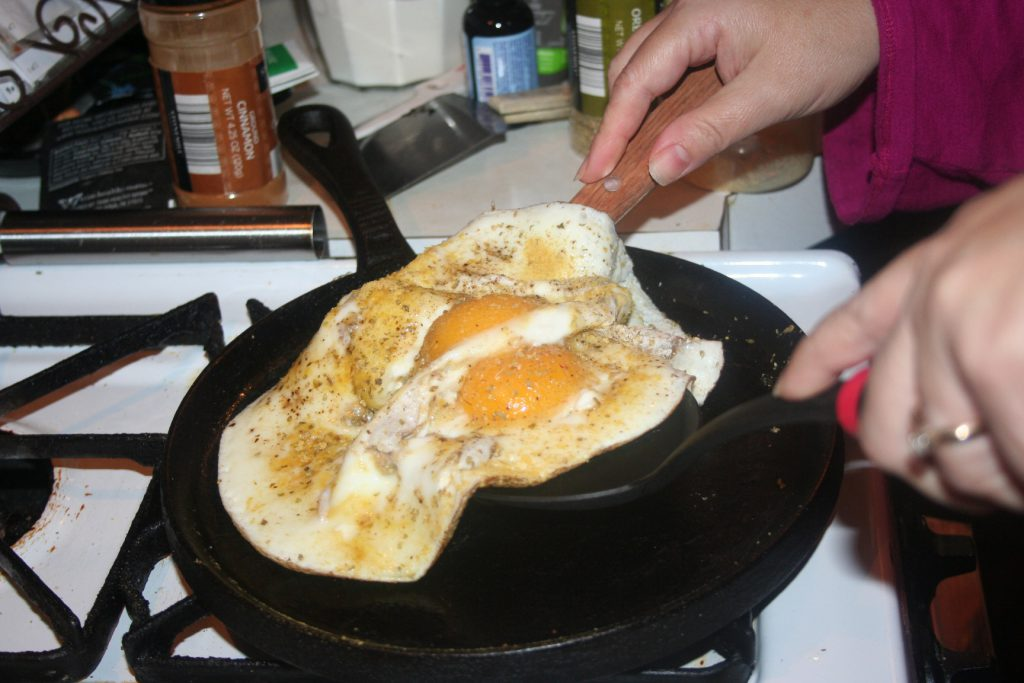 Big Egg Flipping ~ Lifeofjoy.me