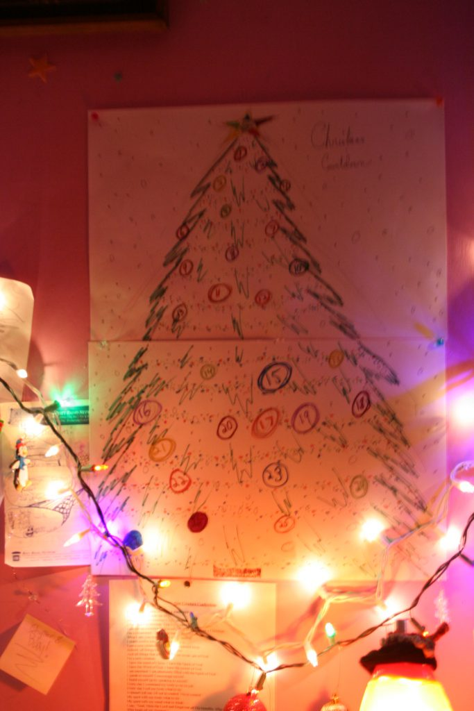 DIY Xmas Countdown ~ Lifeofjoy.me