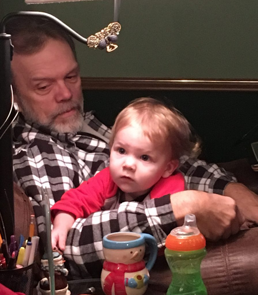 Cutie and Papaw ~ Lifeofjoy.me