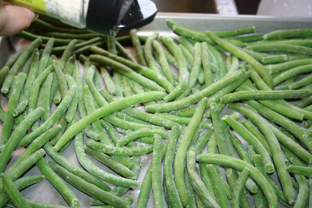 Roasted Green Beans Seasoned ~ Lifeofjoy.me