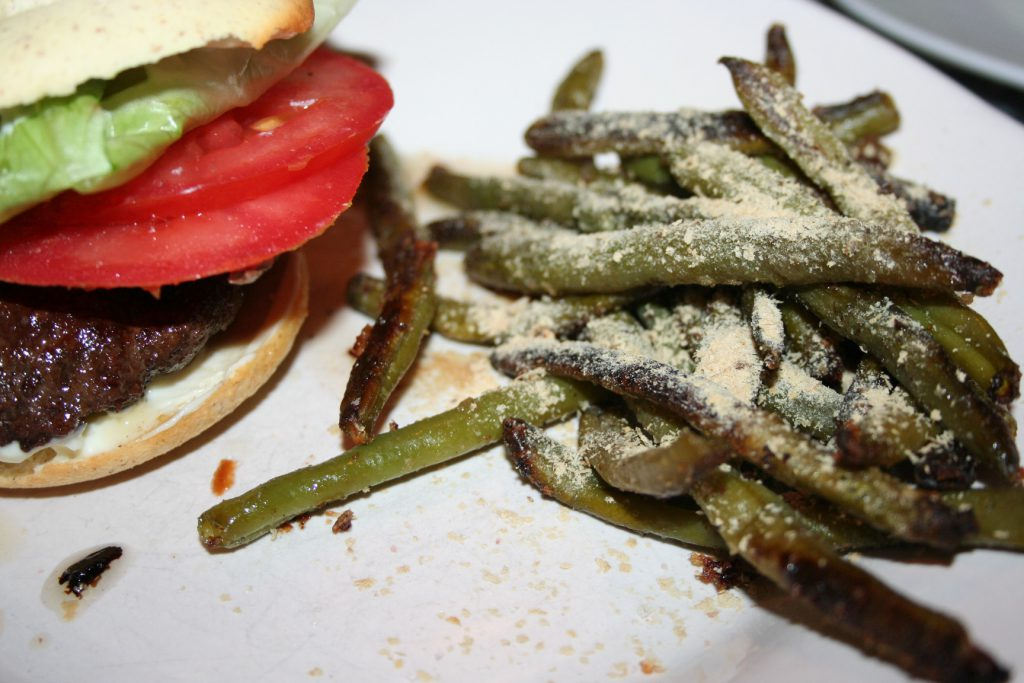 Serving Roasted Green Beans ~ Lifeofjoy.me