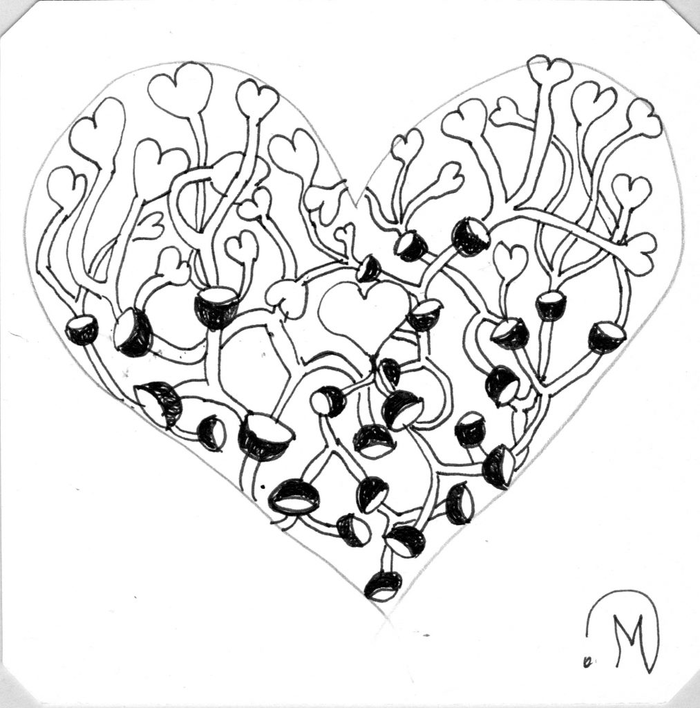 DC#350 Heart Rimada ~ Lifeofjoy.me