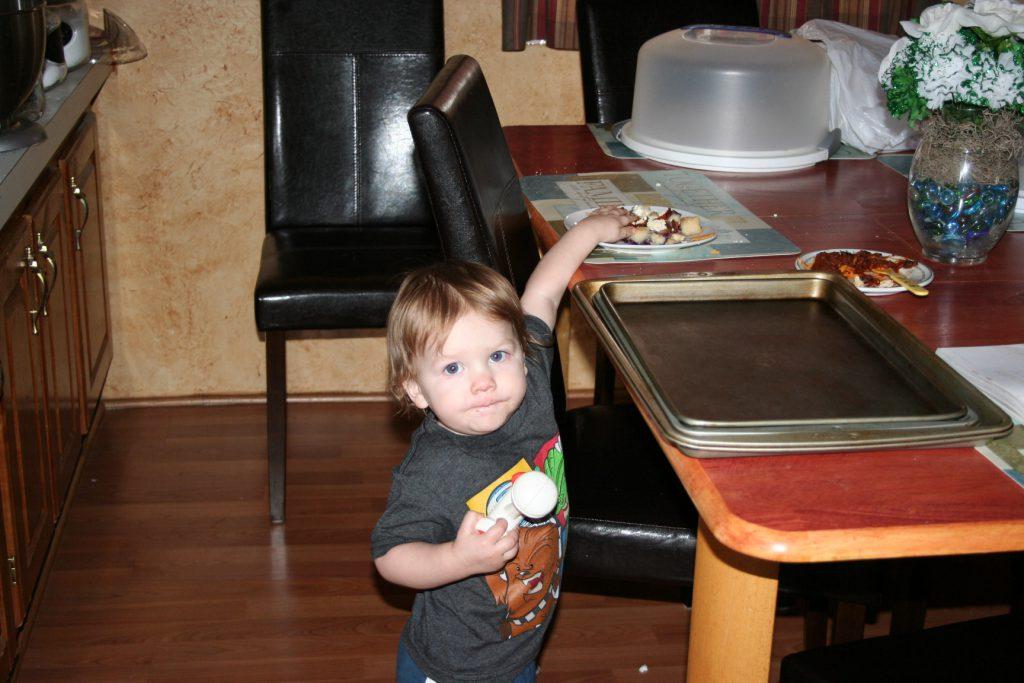 Sneaky grandson ~ Lifeofjoy.me