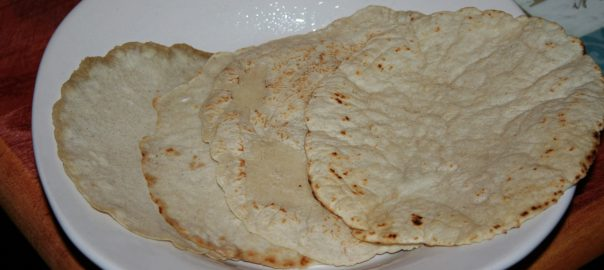 Four Homemade Corn Tortillas ~ Lifeofjoy.me