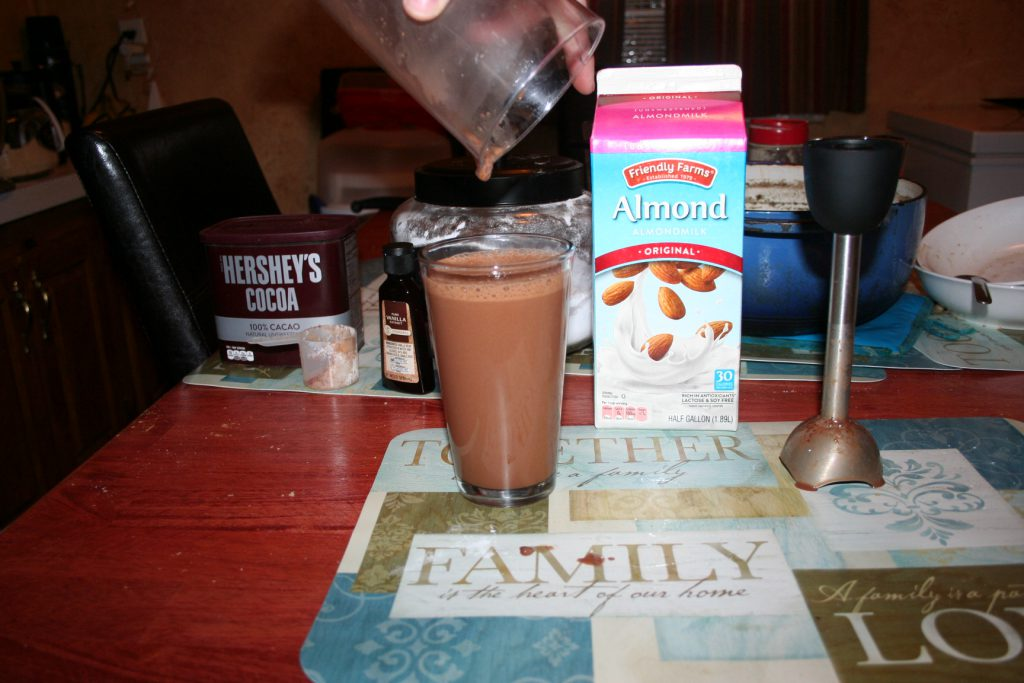 Sugar free Chocolate Almond Milk ~ Lifeofjoy.me