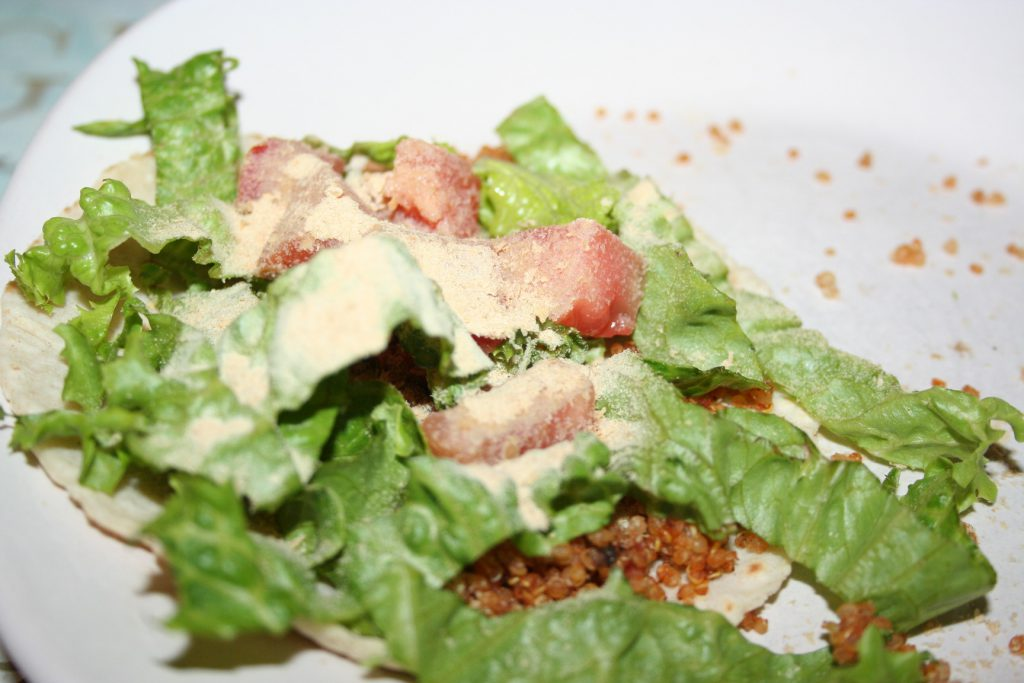 Open Quinoa Tacos ~ Lifeofjoy.me
